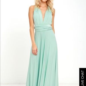 Lulus bridesmaids dress
